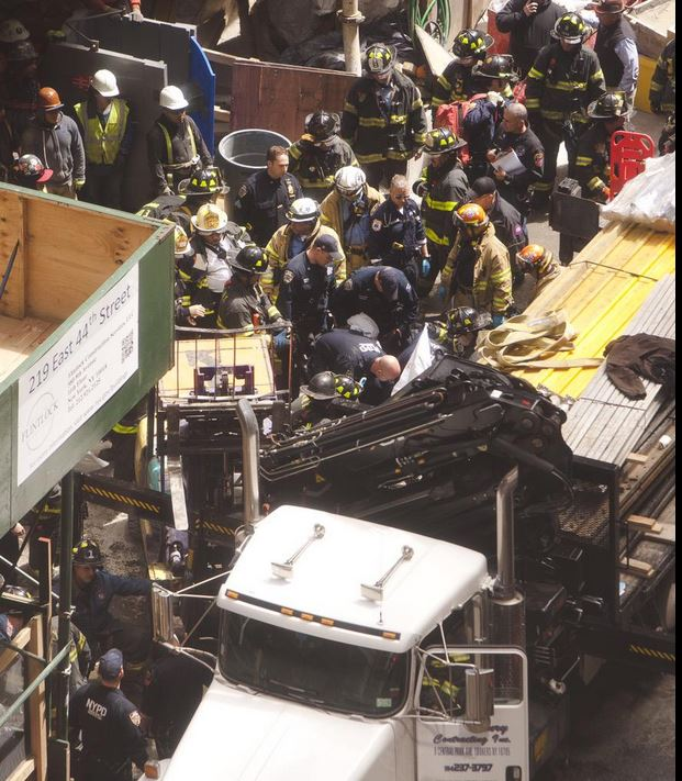 New York Crane Accident
