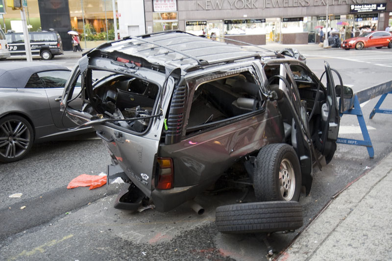 New York car accident