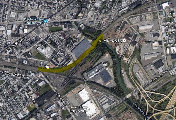 Rail Road curve amtrak accident location