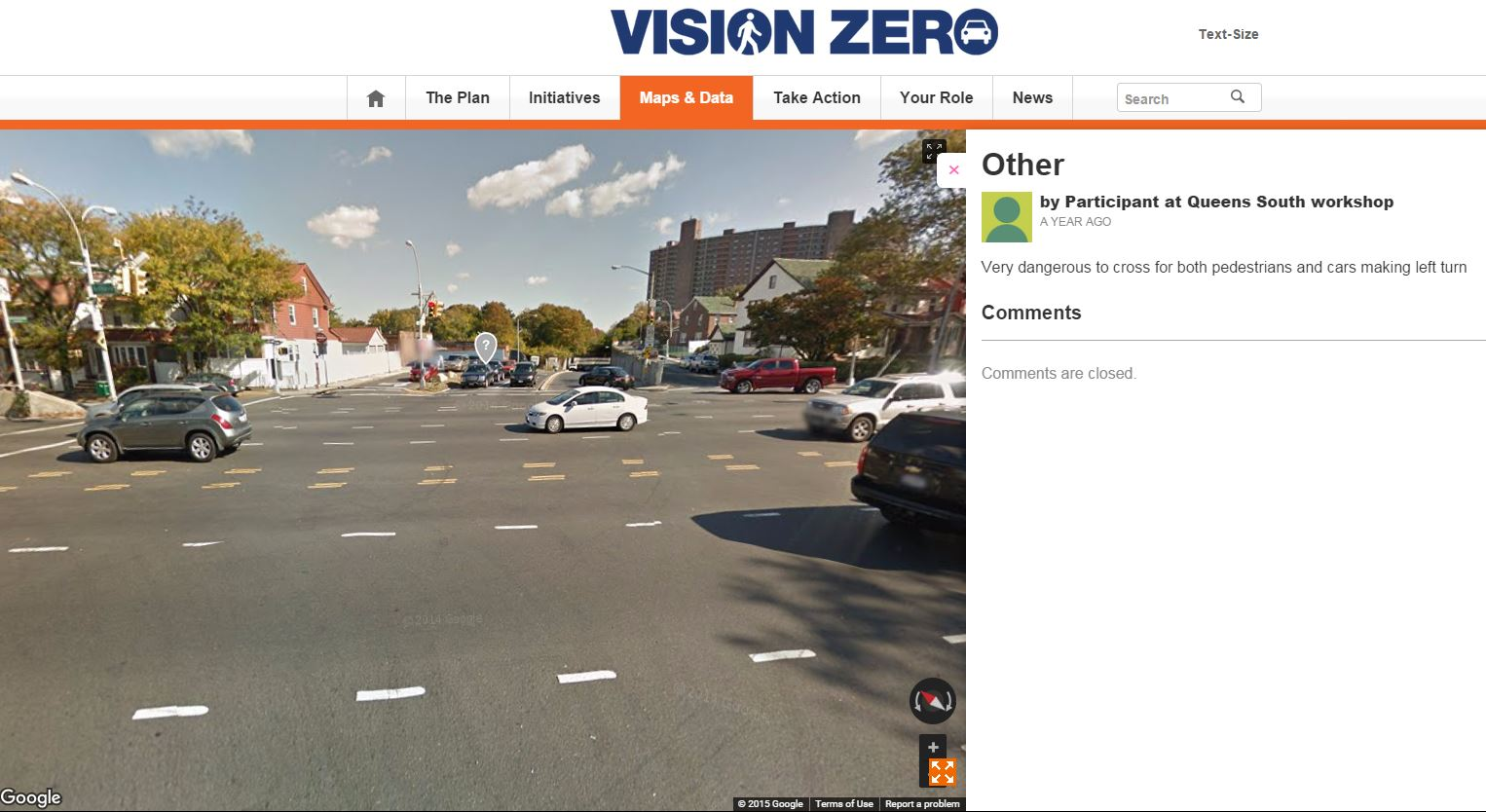 Vision Zero Union Turnpike and Woodhaven Blvd