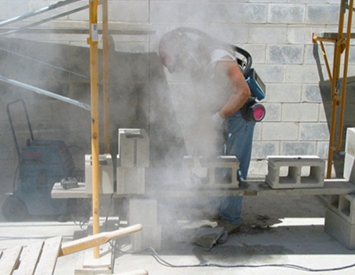 construction worker exposed to fumes