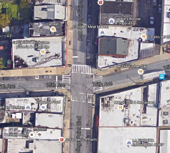 cement truck accident location
