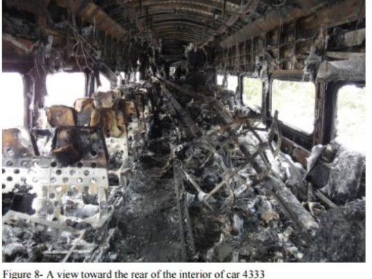 train accident fire