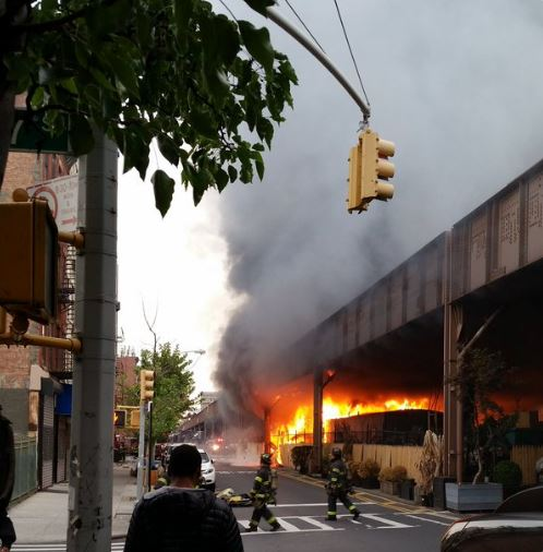 Metro North Fire Accident