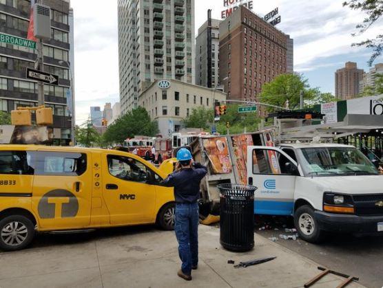 car accident Manhattan