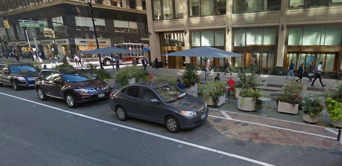 pedestrian plazas