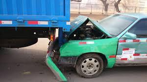 Underride truck accident