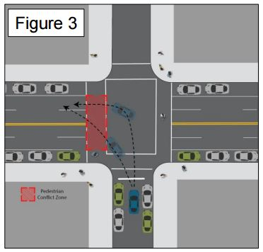 how to win a left turn accident