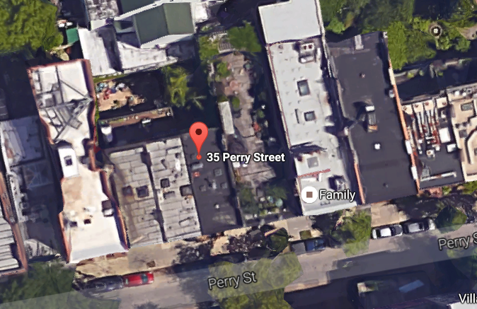 35 Perry Street aerial