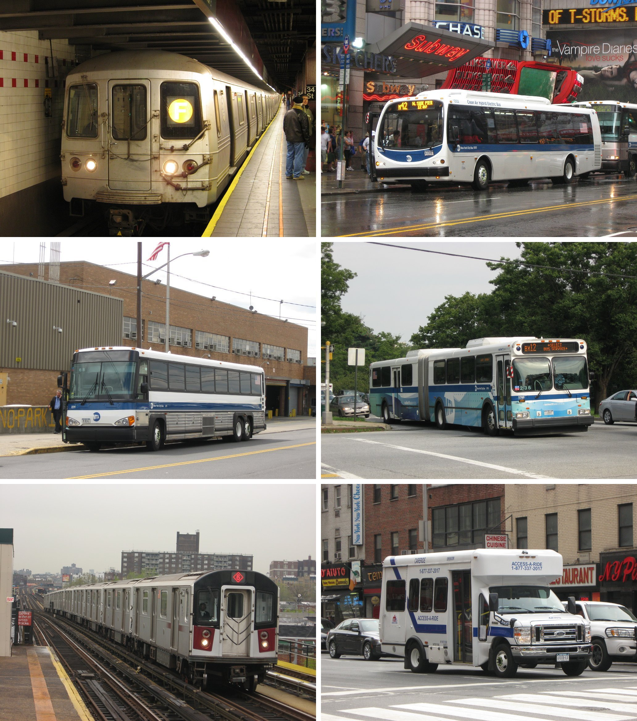 NYC transit services