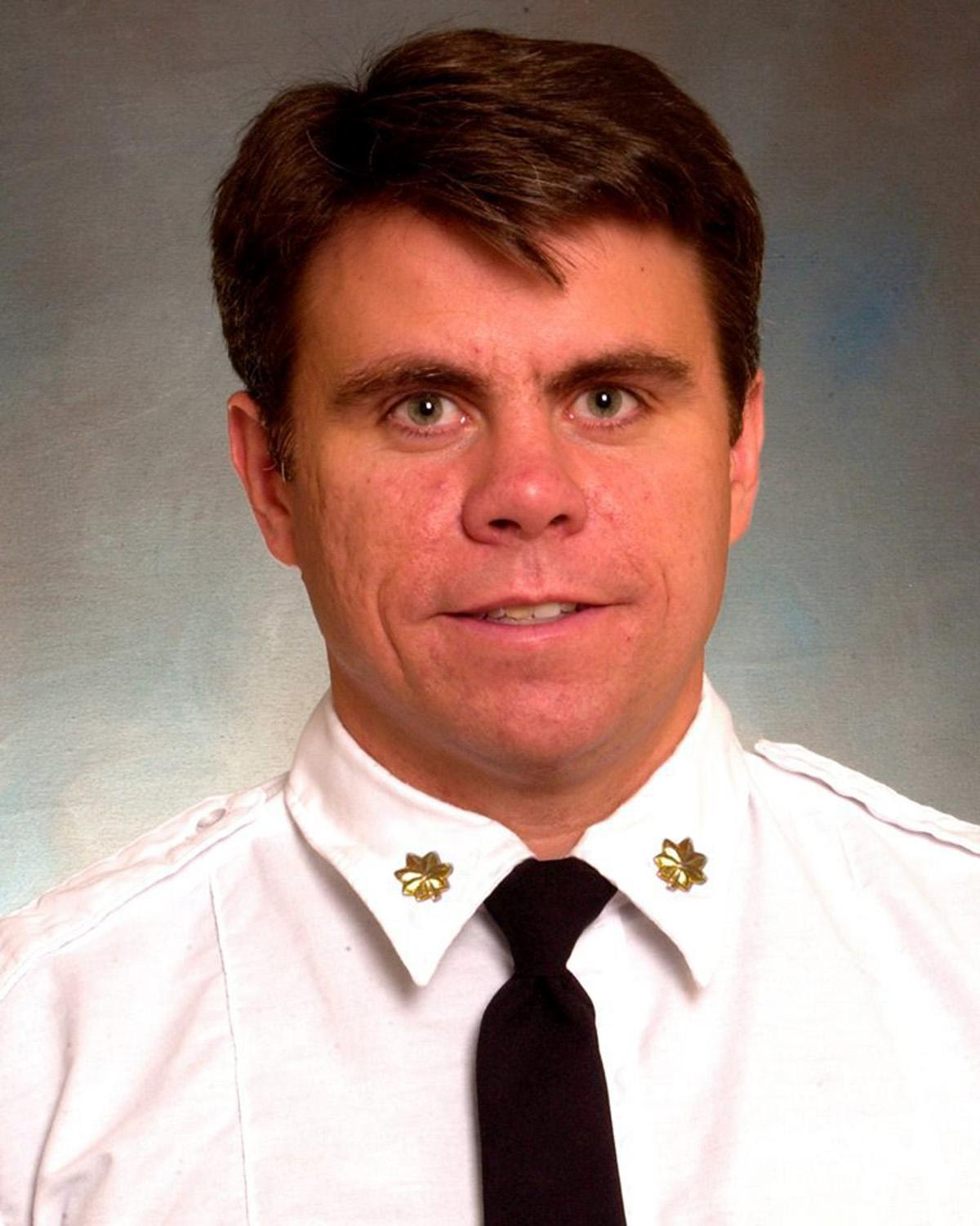 Battalion Chief Michael Fahy