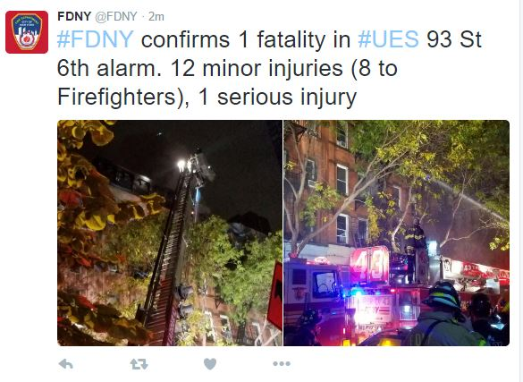fatal NYC fire accident