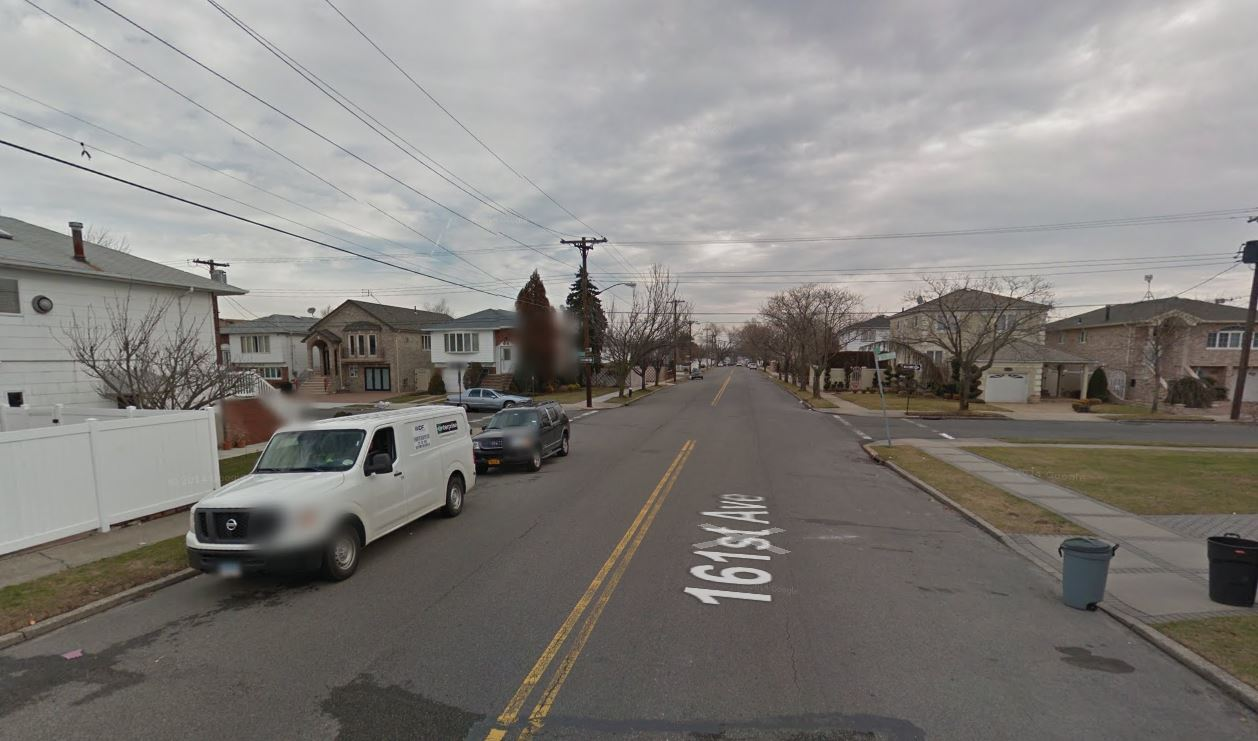 161 Avenue in Howard Beach Queens, NYC is a quite residential street
