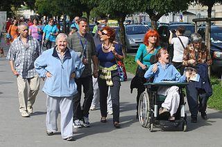 senior pedestrians