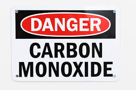 carbon monoxide danger sign