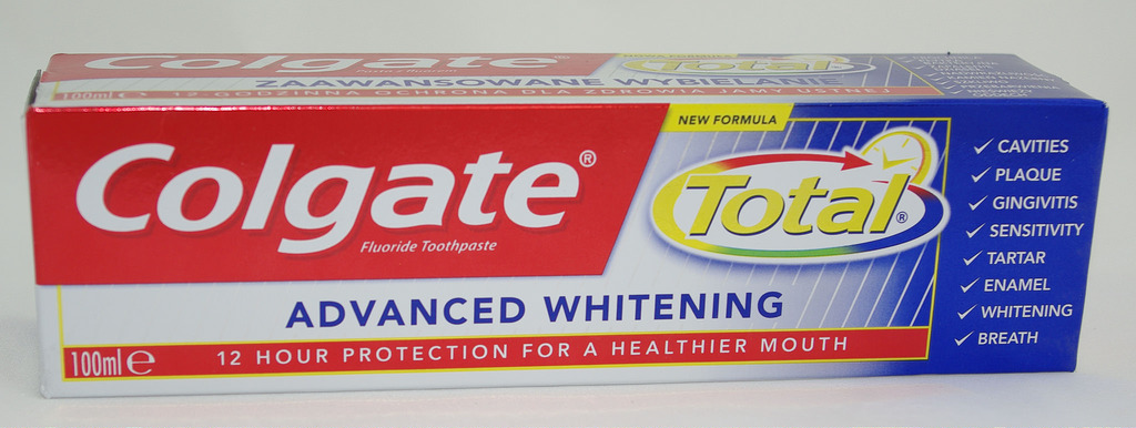 Colgate Total potentially dangerous