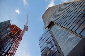crane in New york