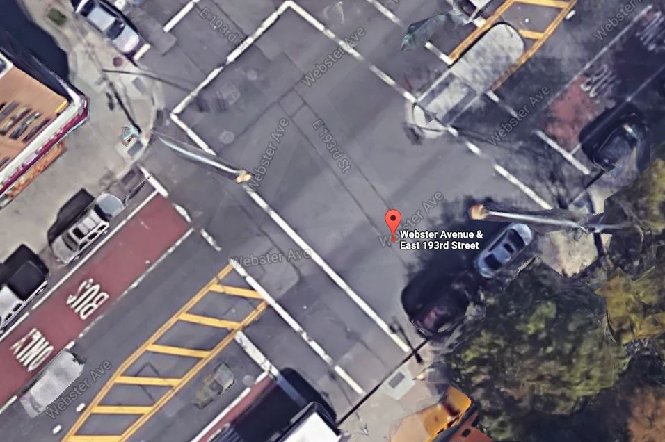 location of Bronx fatal truck accident