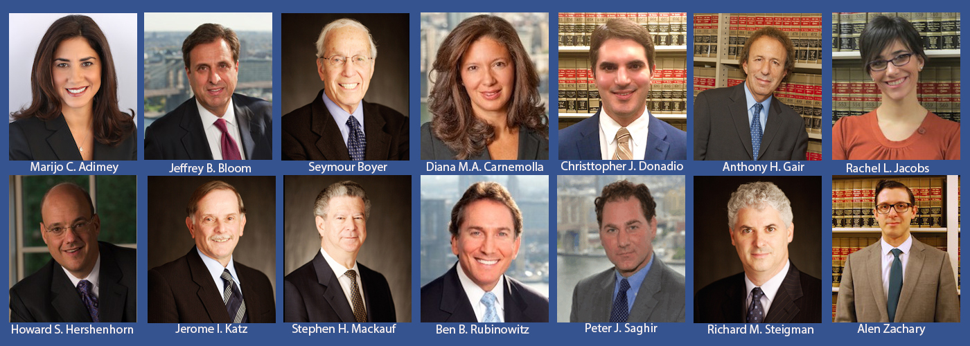 Our 2017 Super Lawyers New York Metro Personal Injury