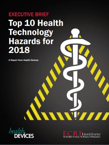 Top 10 Health Technology Hazards