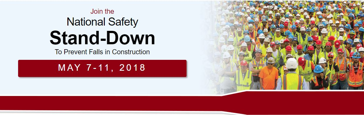 Prevent falls in Construction Campaig