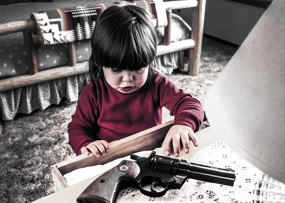 firearm injuries and children