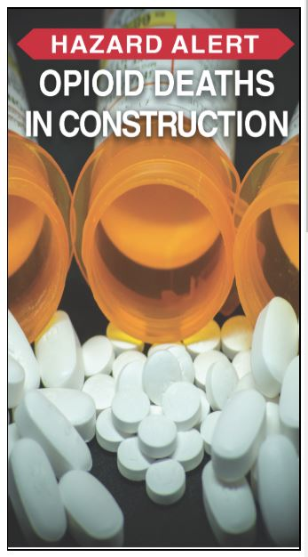 Opiod deaths in construction