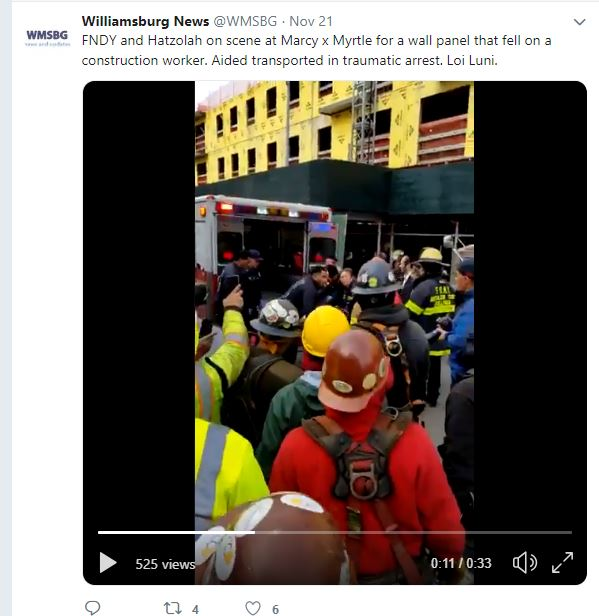 Brooklyn Fatal Construction Accident