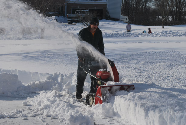 Snow Blowers can be dangerous