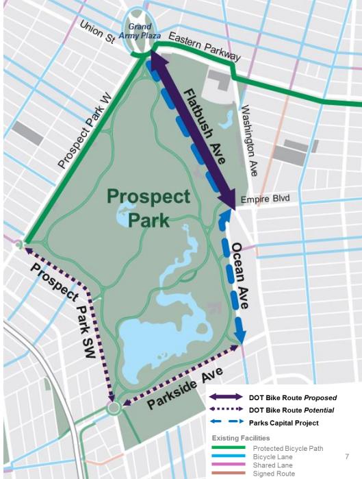 Prospect park bike lanes