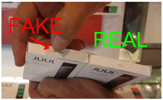 dangerous fake e-cigarette products are difficult to identify
