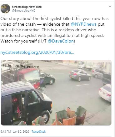 trucks-kills-cyclist-tweet