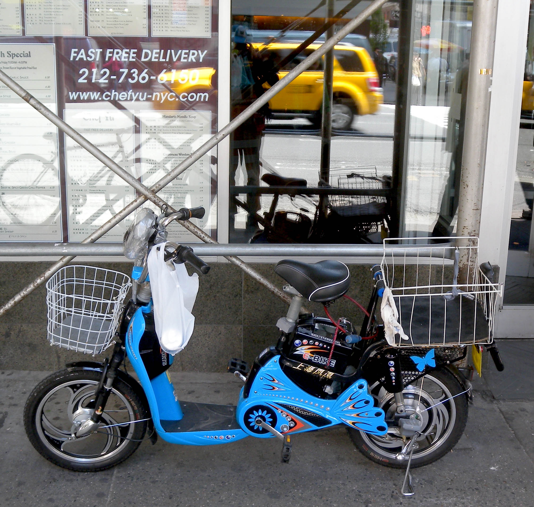 E-bike now legal in NYC