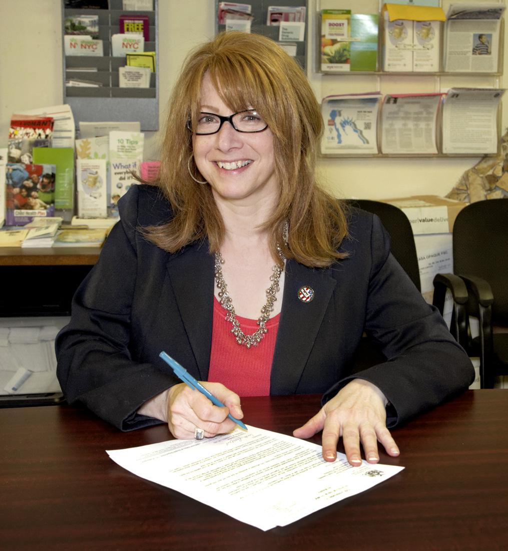 Linda Rosenthal Sponsor of the NY Child Victim Act