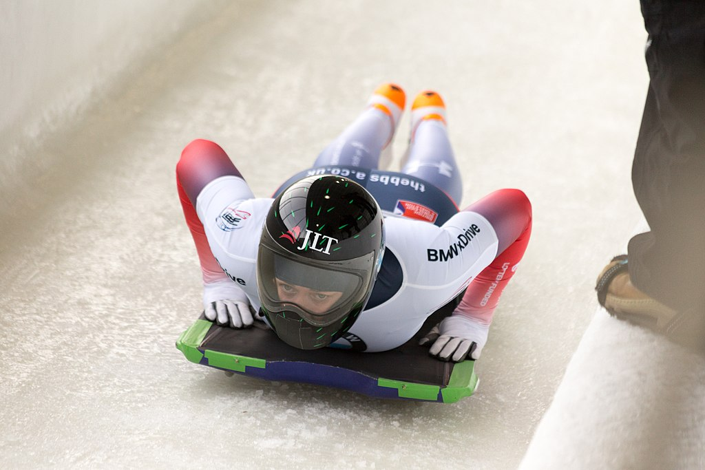 skeleton athlete