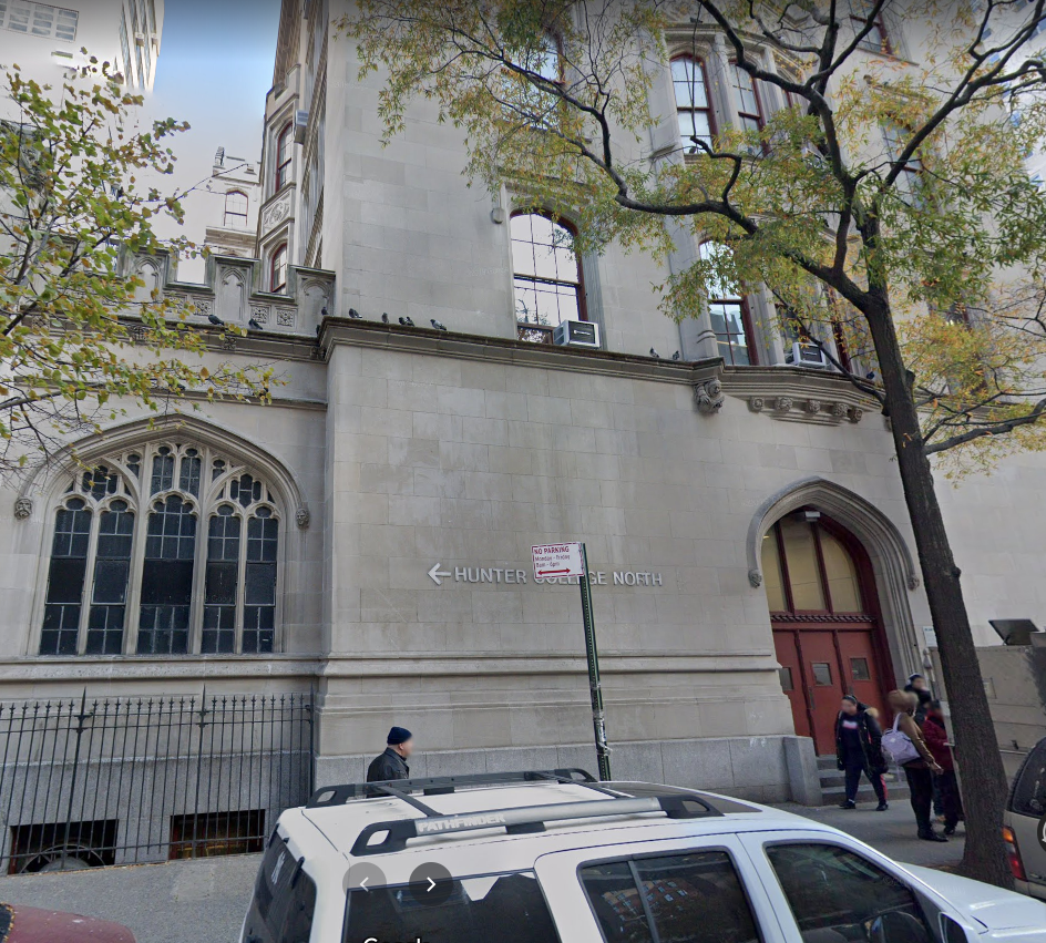 Hunter college where several students were allegedly sexually assaulted