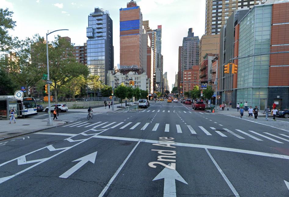 location of the e-bike colision with SUV
