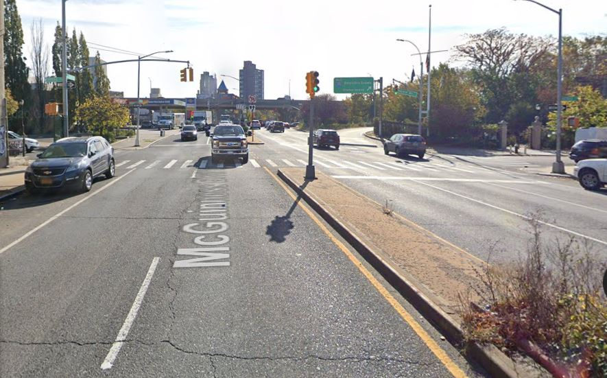 location of the fatal hit and run accident