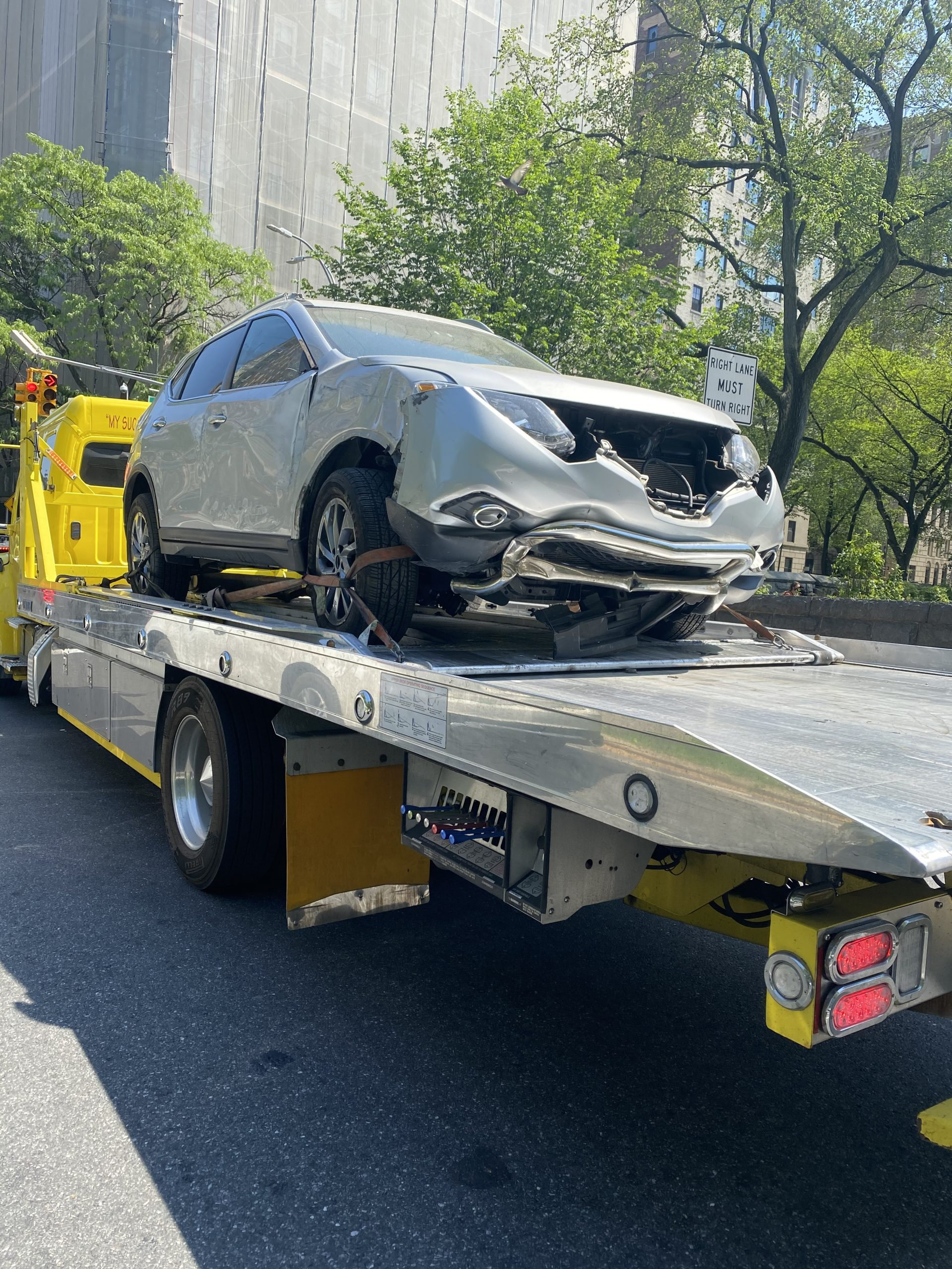 car accident in NYC