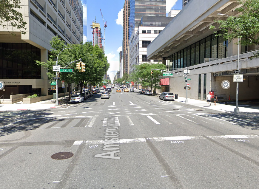 the intersection where Lisa Bane was killed