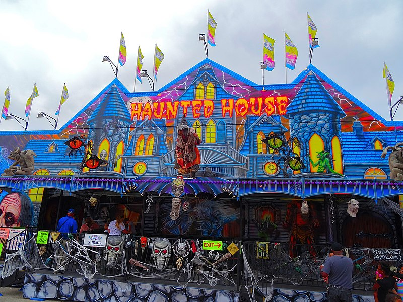 Haunted Houses can cause injury